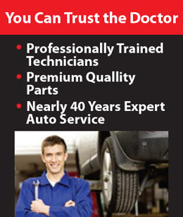 You can trust the Car Doctor